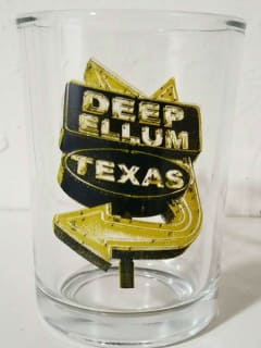 Deep Ellum Mimosa Glass