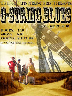 The Jigglewatts Burlesque Revue presents G-String Blues