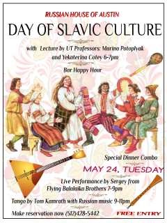 Russian House of Austin presents Day of Slavic Culture