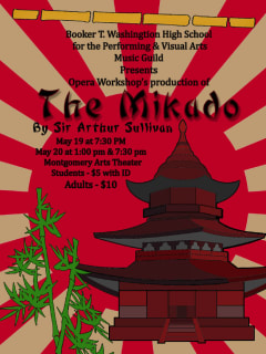 Booker T. Washington High School presents The Mikado