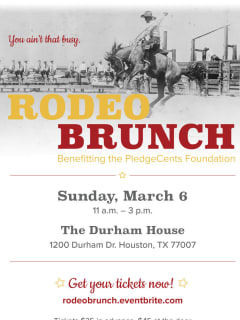 PledgeCents Foundation presents Rodeo Brunch