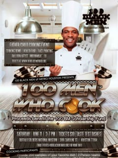 100 Black Men of Metropolitan Houston presents 100 Men Who Cook