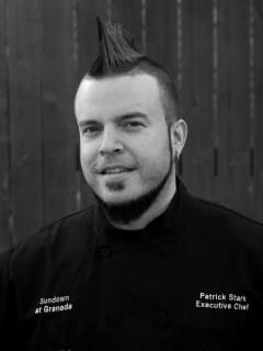 Dallas chef Patrick Stark