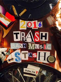 Trash Bash Music Stash 2016