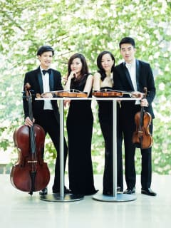 """Aperio, Music of the Americas presents the Nyx Quartet in """"American Dreams - String Quartets by Dvořák and Schickele"""""""