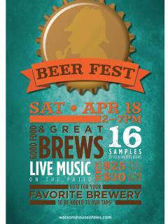 Watson's House Of Ales 2015 Brew Fest