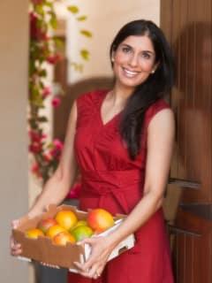 Shubhra Ramineni vegetarian cookbook release May 2013 cook with fruit
