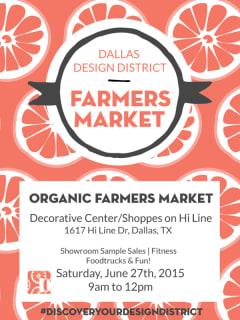 Dallas Design District Farmers Market