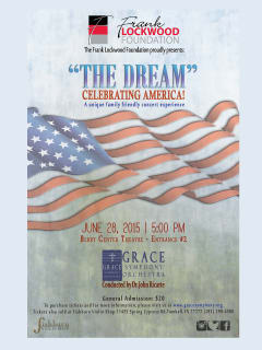 Grace Symphony Orchestra Presents The Dream-Celebrating America
