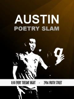 Austin Photo Set: Events_PoetrySlam_Spiderhouse_Jan2013