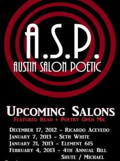Austin Photo Set: Austin Salon Poetic_Headhunters_Feb 2013