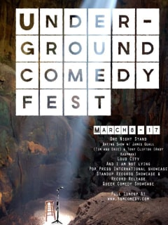 Austin photo: events_underground comedy festival_mar 2013_poster