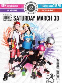 Austin photo: Events_ryan_texas rollergirls_bout 2_season 2013_easter_mar 2013_promo