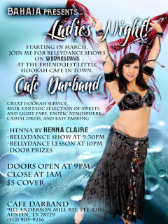 Austin photo: events_ryan_cafe darband_ladies night_april 2013_bellydancing
