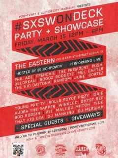 Austin Photo Set: events_SXSWONDeck_The Eastern_March 2013
