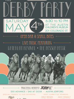 The Derby Party hosted by Toast the Cure fundraiser T1 Diabetes
