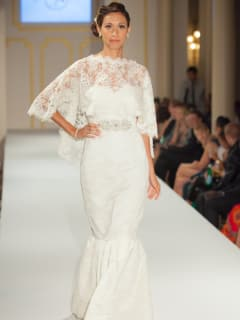 Austin Fashion Week runway model opening party