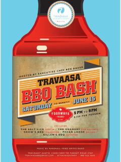 Travaasa BBQ Bash poster