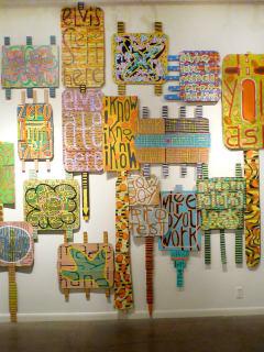 """Jerry De Frese art exhibit """"not yet"""""""