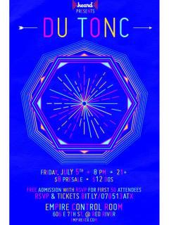 Du Tonc at Empire Control Room poster