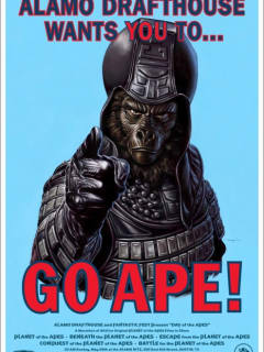 Mondo Go Ape! poster for Planet of the Apes