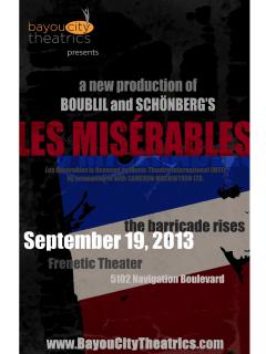 Bayou City Theatrics presents Les Miserables