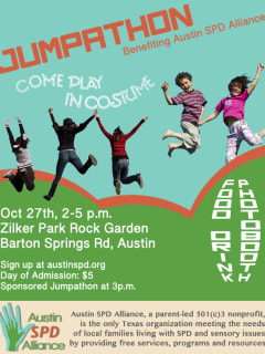 poster for Austin SPD Alliance jumpathon