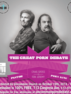 great porn debate poster