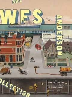 book cover for The Wes Anderson Collection by Matt Zoller Seitz