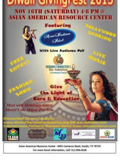 poster for Diwali GivingFest 2013