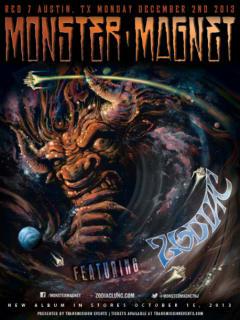 poster for Transmission Events presents Monster Magnet at Red 7