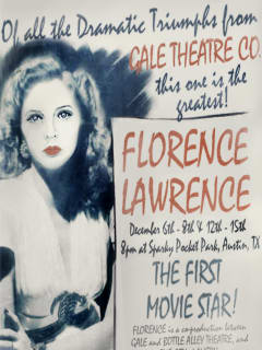 poster for Gale Theatre Company production Florence