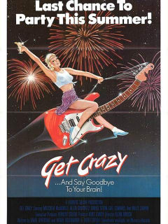 movie poster for Get Crazy