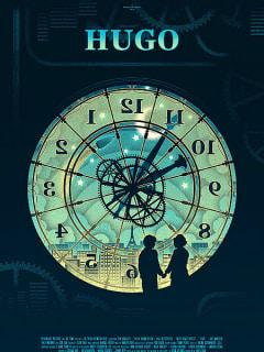 Mondo poster for Martin Scorsese's Hugo