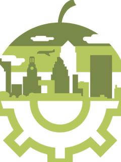 Logo for University of Texas Food Lab program