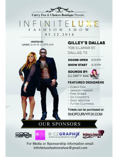 Infinite Luxe Fashion Show