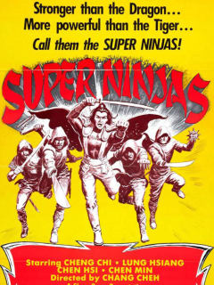 poster for Chinese Super Ninjas for weird wednesay