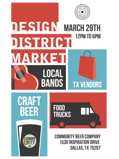 Design District Market March 2014