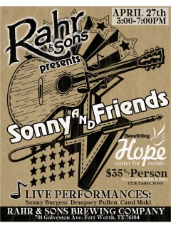 Rahr & Sons Brewing Company presents Sonny & Friends