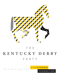 poster for Livestrong Kentucky Derby Party May 2014