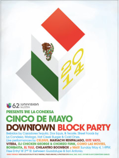 poster for La Condesa 2014 Cinco de Mayo block party