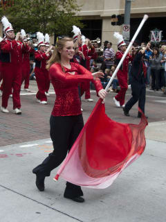News_001_Rodeo Parade Feb. 2011_University of Houston Spirit of Houston Marching Band