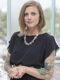 author Lacy Johnson of The Other Side