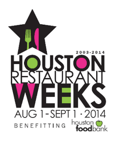 Houston Restaurant Weeks 2014
