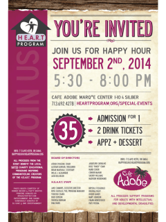 Eighth Annual Happy Hour for HEART