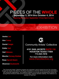 Community Artists' Collective art opening reception: Pieces of the Whole