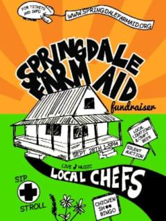 poster Springdale Farm Aid 2014