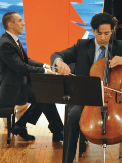 "Aperio, Music of the Americas presents ""Heroic Measures - Dynamic Duos for Cello and Piano"""