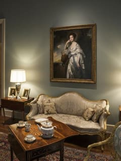 Rienzi exhibition opening: Comfort and the Eighteenth-Century Interior