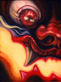 East End Studio Gallery art opening reception: Diabolical: Mephistophelean and Arcane Imagery from the Tattoo World